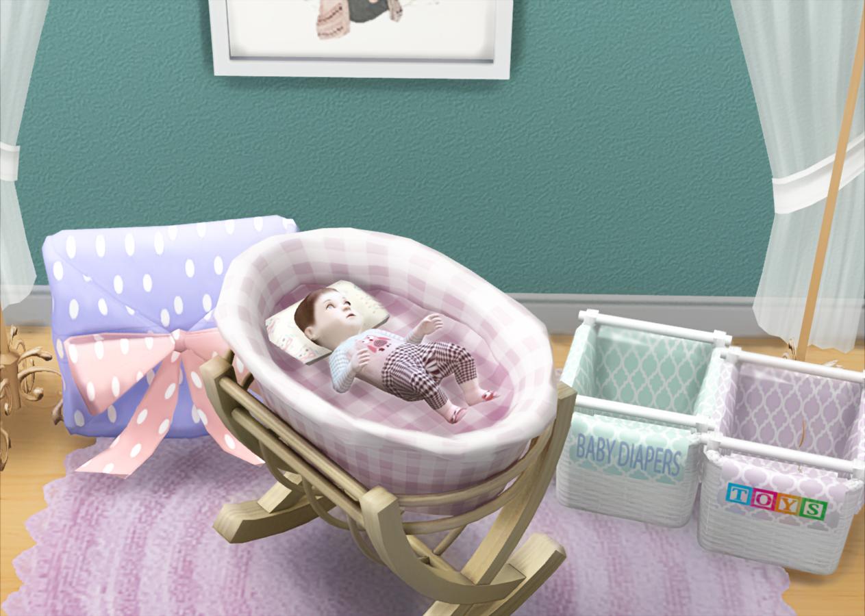 My Sims 4 Blog Ts3 Baby Crib Conversion By Mysimlifefou