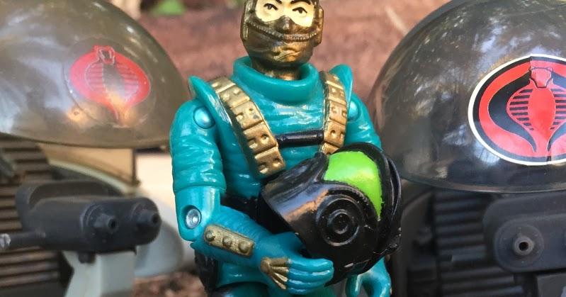 GI Joe Body Part 1993 Astro-Viper           Head            C8.5 Very Good