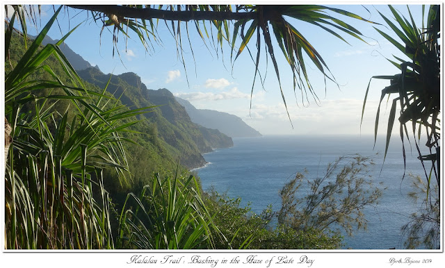 Kalalau Trail: Basking in the Haze of Late Day