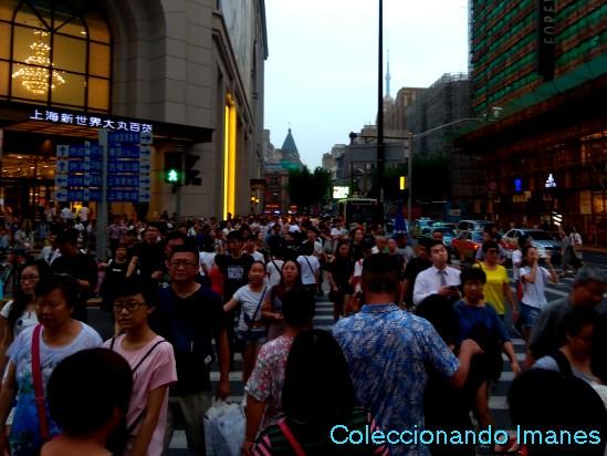 Visitando el Bund de Shanghai