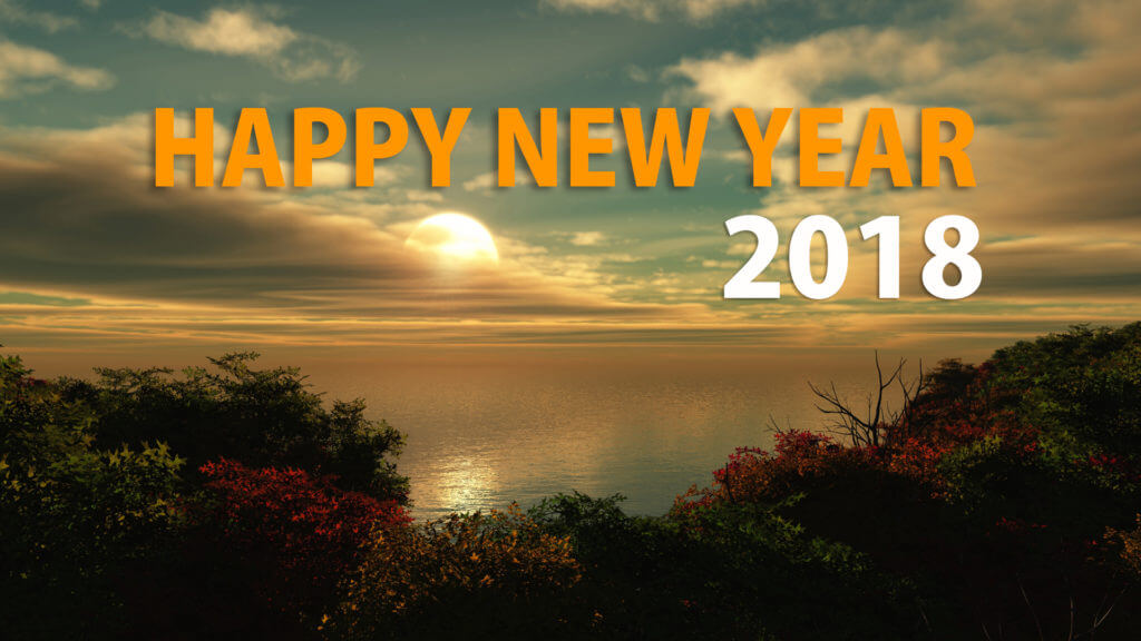 Happy New Year 2018 HD Wallpaper Images Download