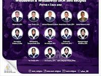 Wisudawan & Wisudawati UKM Seni Religius Periode 3 Tahun 2018