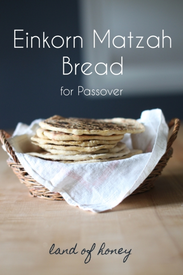 Einkorn Matzah Bread | Land of Honey
