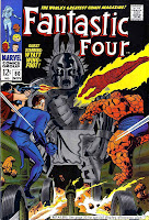 Fantastic Four v1 #80 marvel 1960s silver age comic book cover art by Jack Kirby