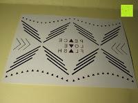 Muster: Original FLASH TATTOOS - Die beliebten Gold Tattoos der Stars aus USA - Temporäre Tattoos (Dakota)