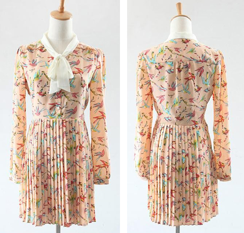 model baju vintage wanita