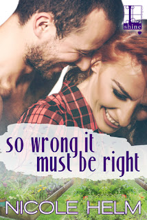romance novel covers, contemporary romance, So Wrong It Must Be Right by Nicole Healm