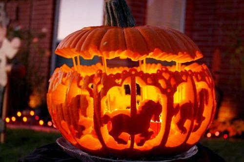 Carousel Pumpkin Carving