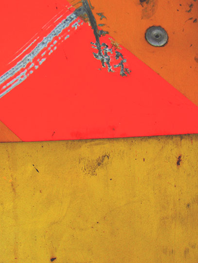 abstract, urban photography, abstract photo, contemporary, Sam Freek, orange, red, yellow, urban decay,