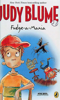 Fudge-a-Mania, part of the Fudge Series by Judy Blume, book review gets 4 stars.  Well written, humorous read, great read aloud for a teacher or parent, and boys and girls grades 2nd, 3rd, 4th, or 5th will LOVE this book and series.  It's just fun!  Alohamora Open a Book http://www.alohamoraopenabook.blogspot.com/