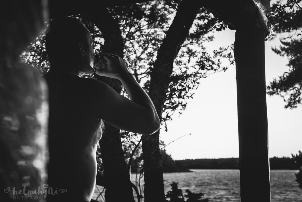 sauna-kuvaus-mustavalko
