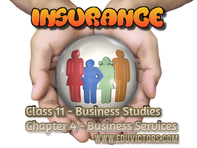 CBSE Class 11 - Business Studies - Chapter 4 - Business Services - Insurance Services (#cbseNotes)