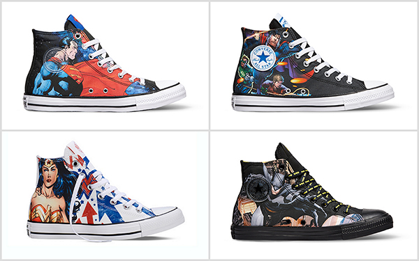 a248f4f00449 The Converse Chuck Taylor All Star DC Comics Pack