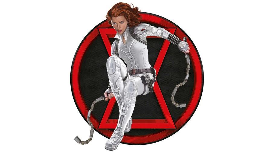 Black Widow, Movie, White Suit, 4K, #7.1582