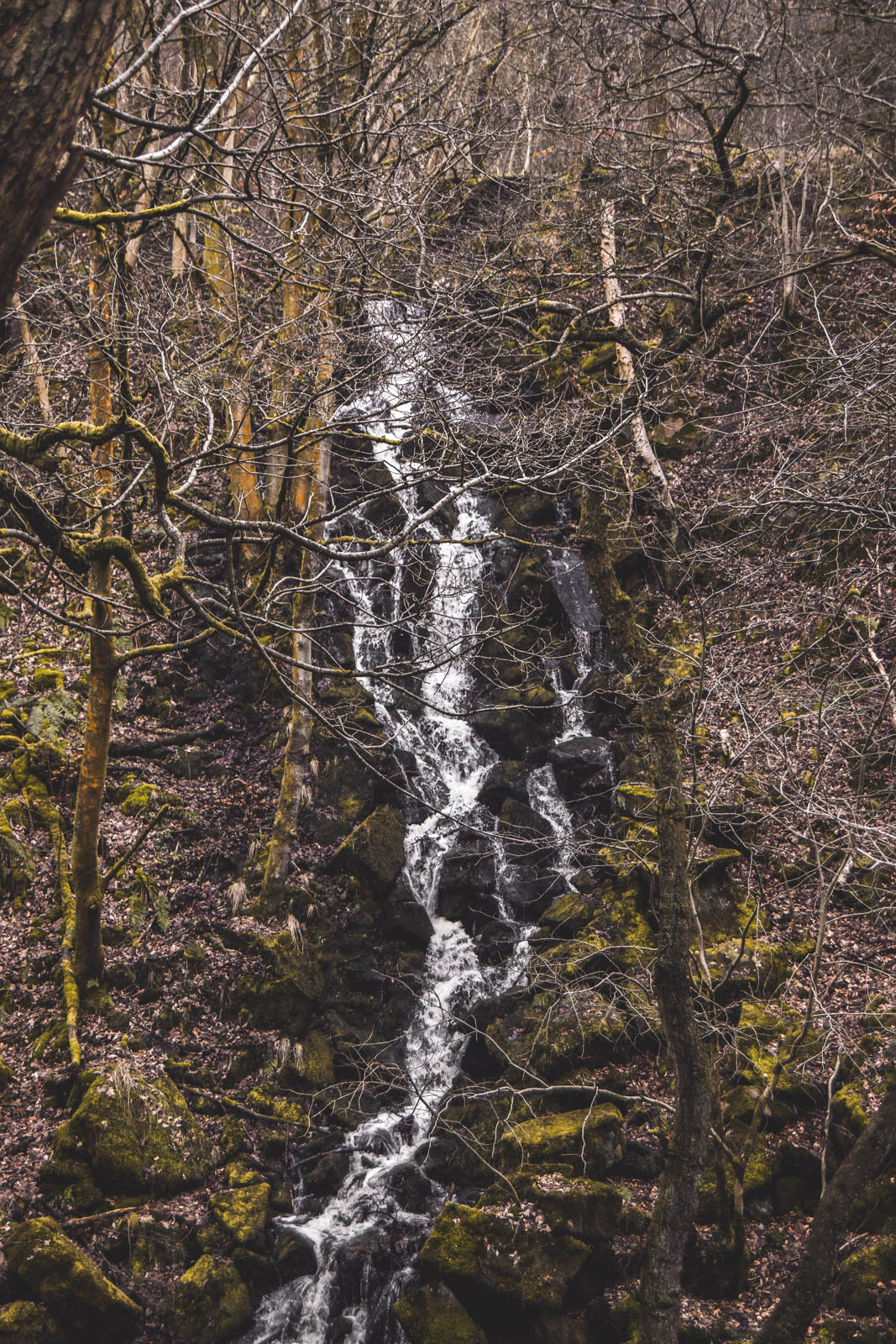 waterfalls in the peak district
