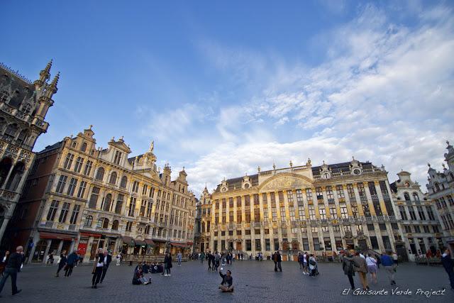 Grand Place de Bruselas, por El Guisante Verde Project