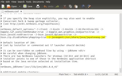 Global Menu Support for Java Applications in Ubuntu