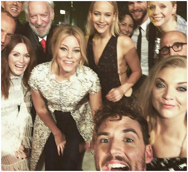The Hunger Games Selfie