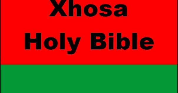 Xhosa Bible Pdf