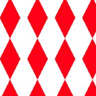 red harlequin paper