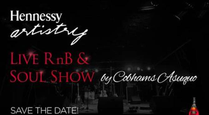 The best of Rhythm n' Blues & Soul will converge on Sunday, the 4th of September for the Hennessy Artistry Live RnB & Soul Show in Lagos. This event billed to be the biggest R&B show will see some of the most talented singers in a very intimate, exclusive and interactive style. The invite-only show will be Musically Directed by Famous Producer, Singer & Songwriter; Cobhams Asuquo.