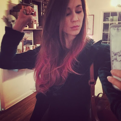 PLL actress Troian Bellisario Dyes Hair Ombre Pink