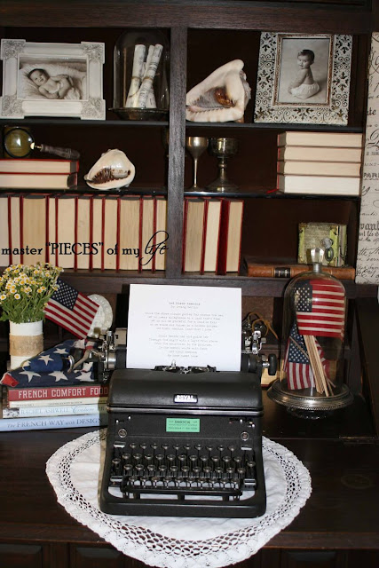 4th of July Desk