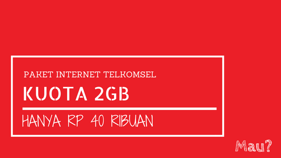 Paket Internet Telkomsel 2gb 30 Hari Hanya 40 Ribu Tanpa Videomax