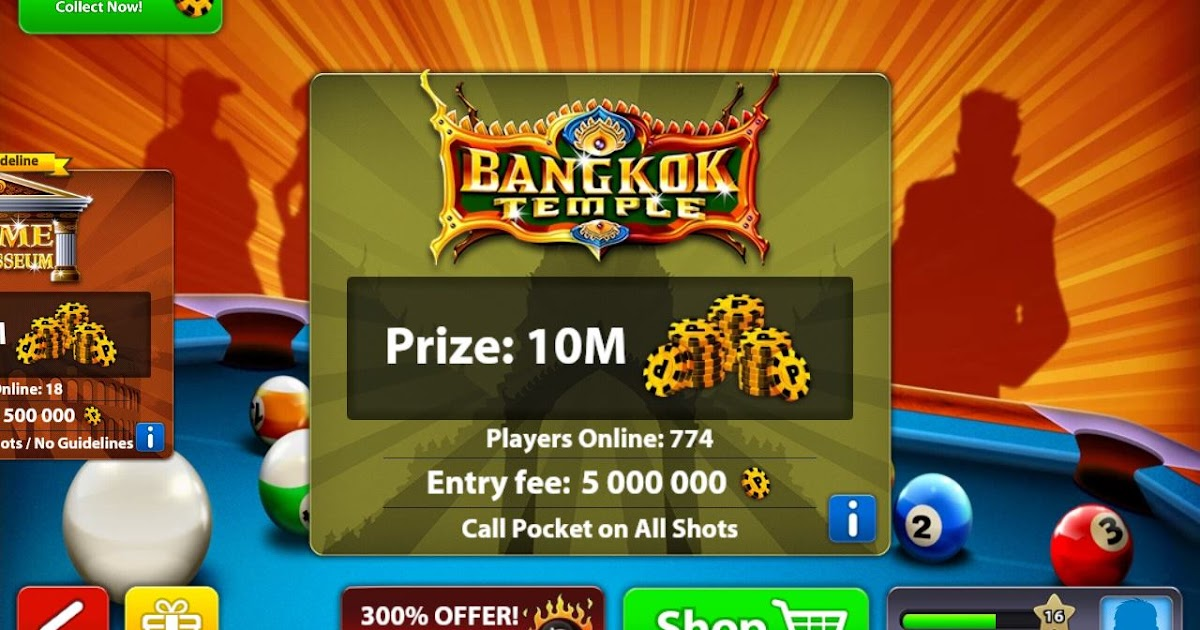 Get 8 Ball Pool 10 Million Coins Free Android Tricker