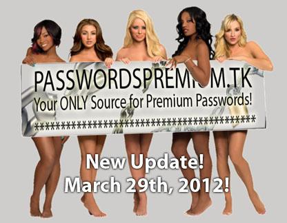 Daily passwords adult premium