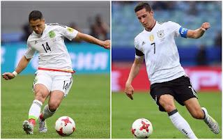 Alemania vs México en Semifinales de la Copa Confederaciones Rusia 2017