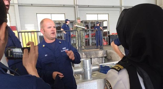 Bakamla RI Kunjungi Kapal Cepat U.S. Coast Guard