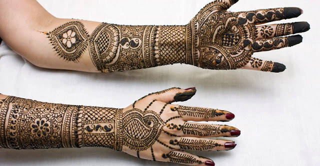Mehndi Design For Hands and Palm
