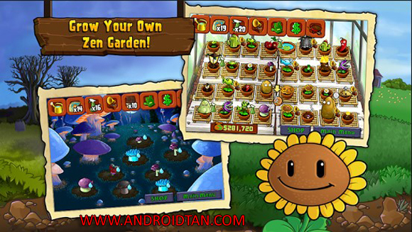 Free Download Plants vs. Zombies FREE Mod Apk + Data v1.1.62 Android Terbaru 2017 Gratis
