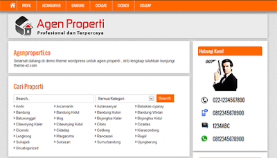 Download WP agen Properti  by Theme-id
