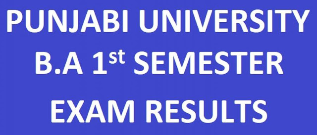 Punjabi University Exam Result