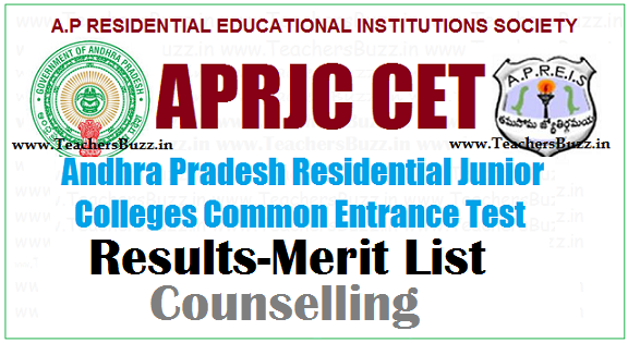 APRJC CET 2019 Results, Merit List manabadi,Eenadu,Sakshi
