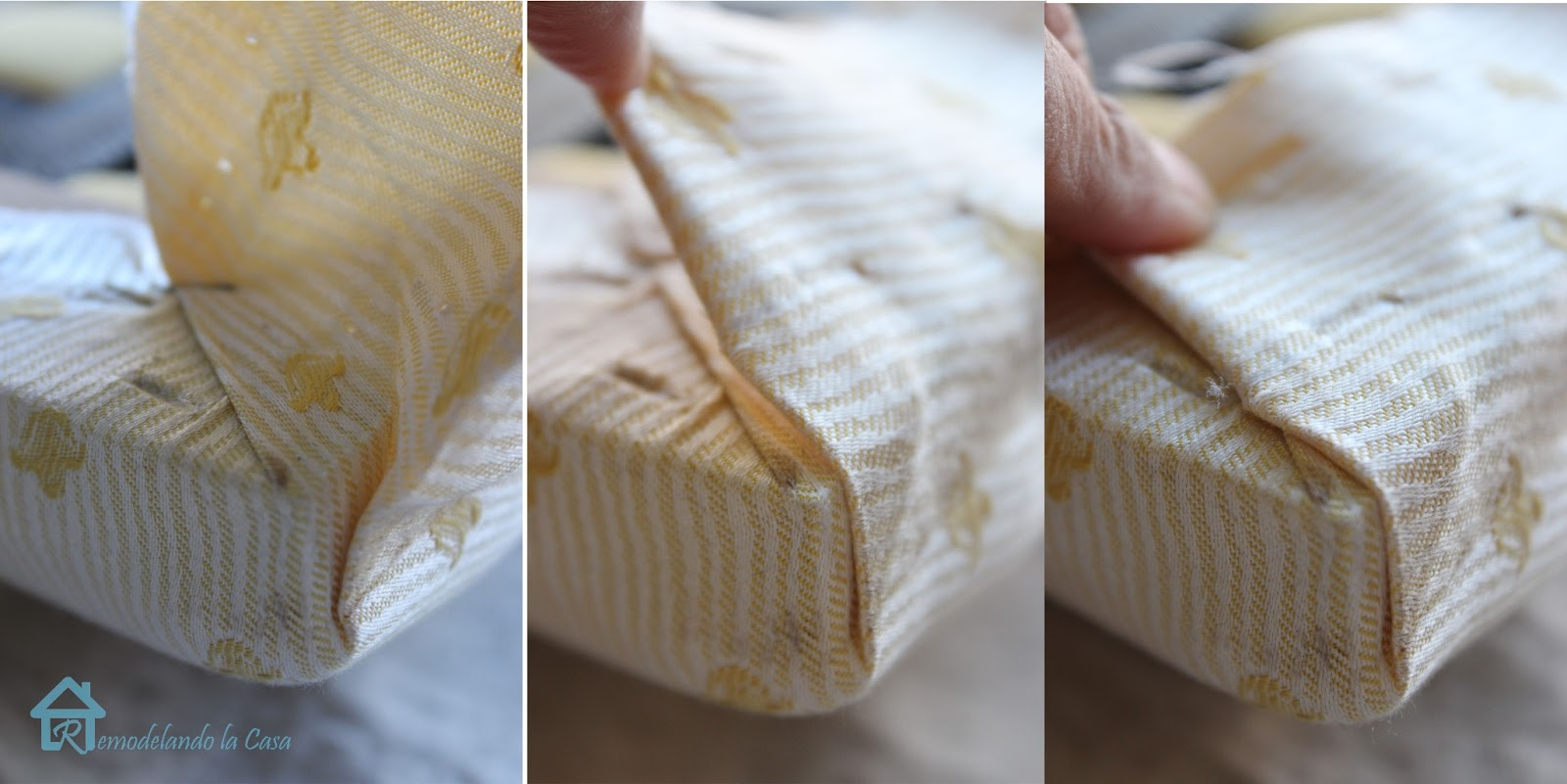 How To Make The Corners When Upholstering Cushions