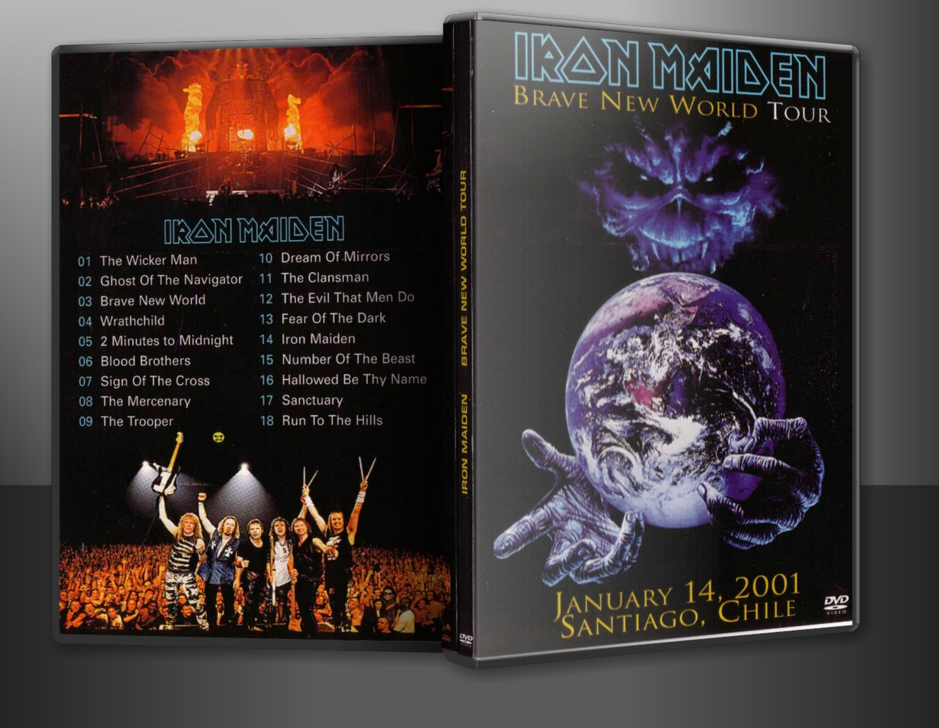 Dvd Concert Th Power By Deer Iron Maiden