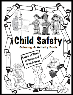 Keeping kids safe free download fire gun safety for Home safety coloring pages