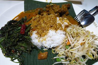 Food Opera, nasi padang
