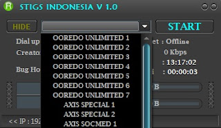 Inject Indosat Axis STIGS INDONESIA V 1.0 15 Agustus 2016