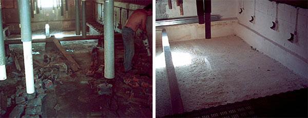 Xử lý toàn bộ hệ thống thoát nước cũng như hầm chứa phân