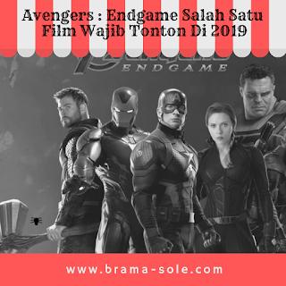 Avengers : Endgame Salah Satu Film Wajib Tonton Di 2019