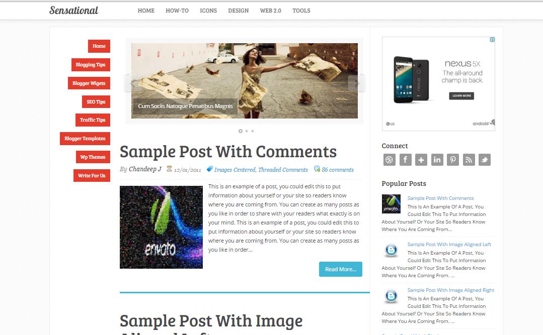3 Best Free Blogspot Templates to Start a Blog
