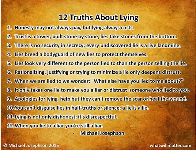 12 Truths About Lying - Michael Josephson