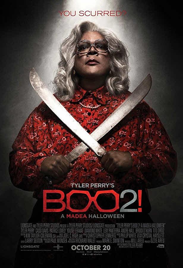 فيلم Tyler Perry's Boo 2! A Madea Halloween 2017 مترجم
