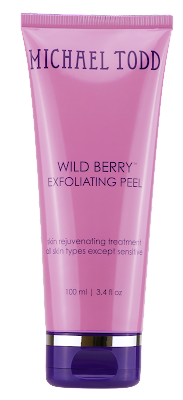 Cruelty Free Michael Todd Beauty WILD BERRY SKIN PEEL by barbies beauty bits