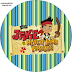 Jake and the Neverland Pirates Free Printable Mini Kit.