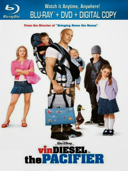 The Pacifier 2005 Hindi Dubbed Dual Audio BRRip 720p